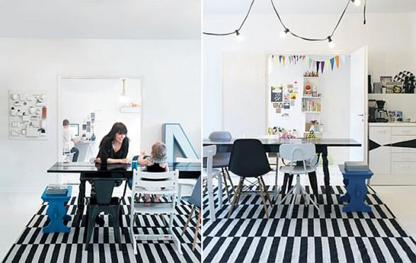 Beautiful Fine Finish White Apartment Design