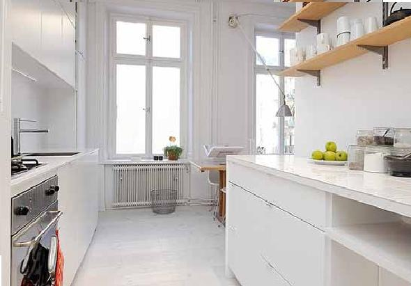 Small Apartment Kitchen
