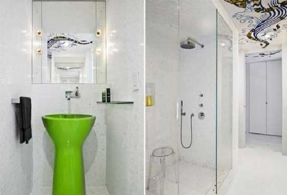 Apartment White Bathroom Ideas