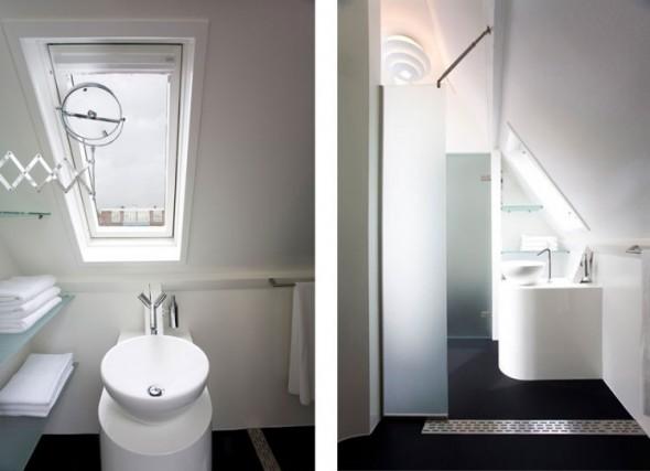 Bathroom-Maff Mini-Apartment in The Hague by Queeste Architecten