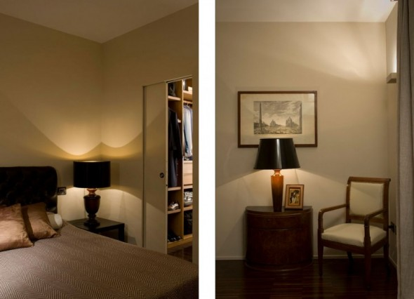 Bedroom-Trastevere Apartment by Carola Vannini