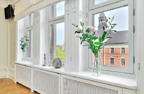 Classic Interior Decor Apartment-windows