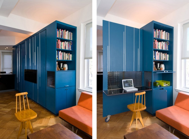Unfolding Apartment by Normal Projects