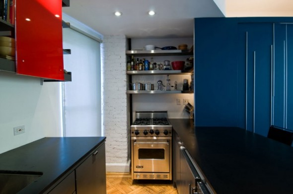 Clever Unfolding Apartment-kitchen