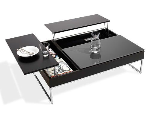 Coffee Table With Storage by BO Concept