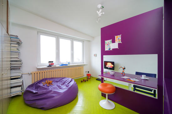Colorful Cheerful Design seating furniture Apartment design
