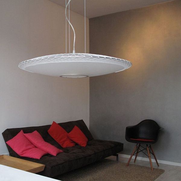 Disque Pendant Lamp by Marc van der Voorn