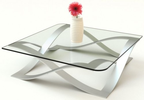 GlassPort Coffee Table