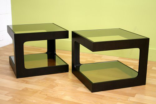 Ida Black Oak Coffee Table