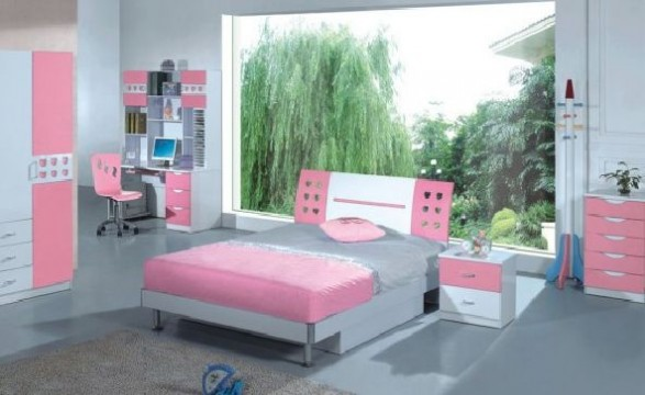 Ideas for pink girls bedroom