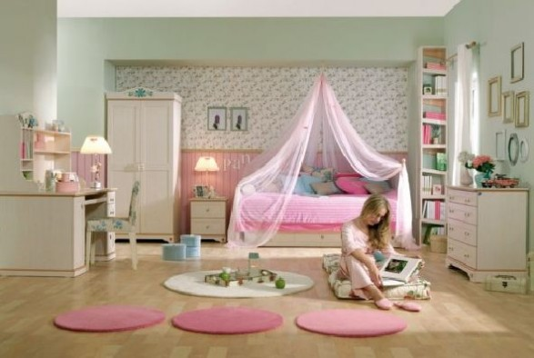 Ideas for pink girls bedrooms