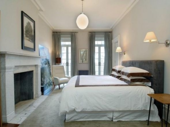 Julianne Moore Luxury Apartment Bed Room Design