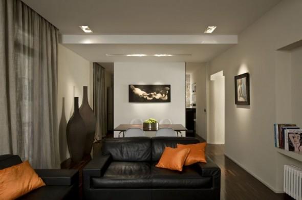 Living room-Trastevere Apartment by Carola Vannini