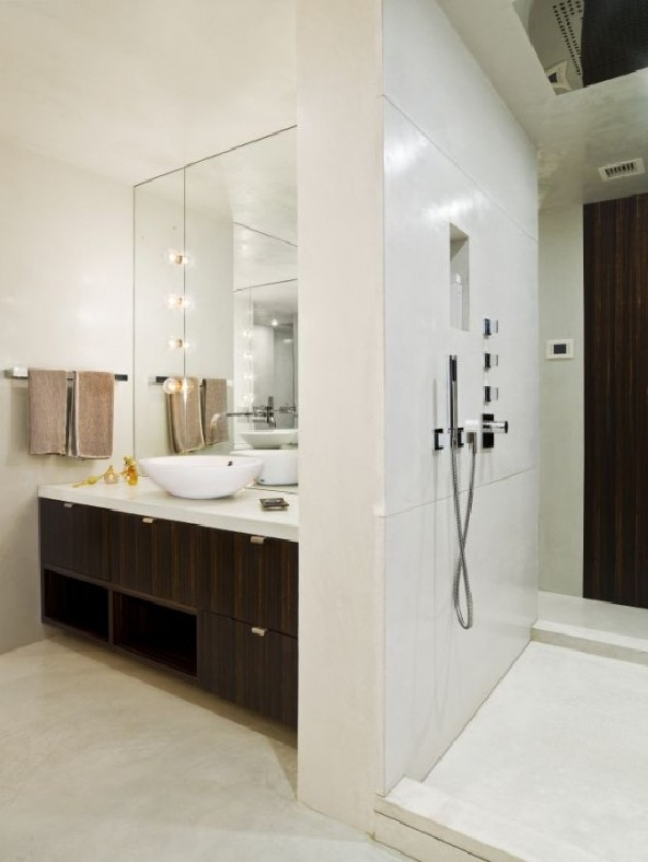 bathroom apartment design by Apartment Creative Agency