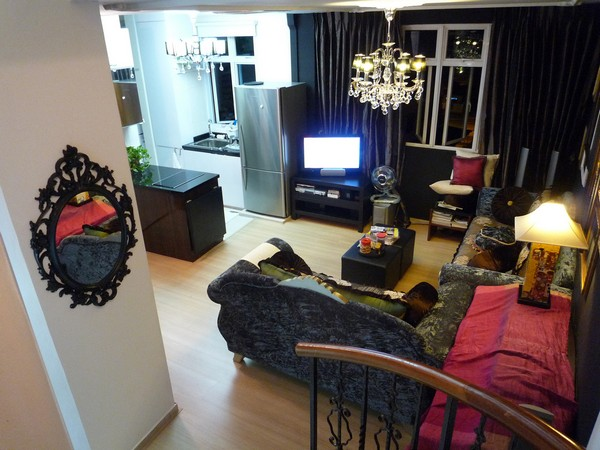 Living Room-Make Over Apartment