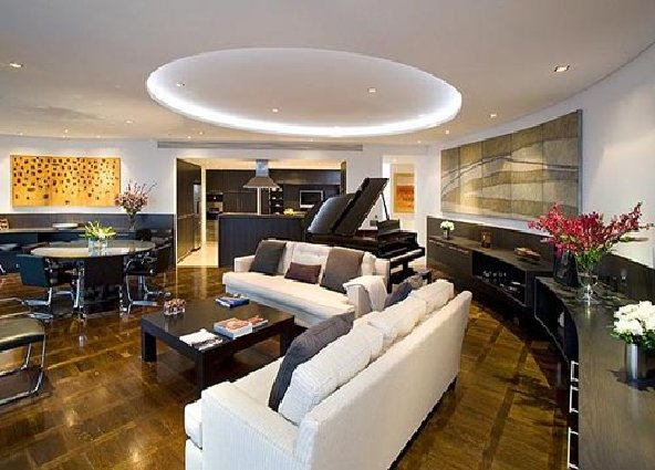 Luxury apartment interior Robinson
