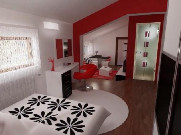 Red Studio Apartment Henri Matisse-Room