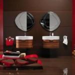 Regia wooden bathroom vanities