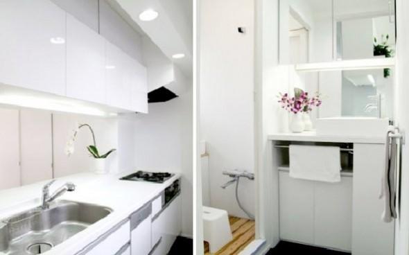 Small apartment interior BAKOKO