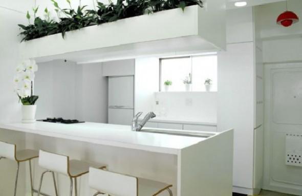 Small apartment interior design by BAKOKO