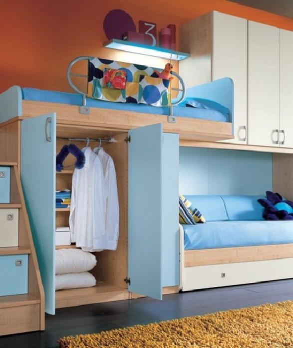 Teen Bedroom Room-storage