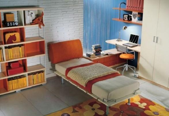 Teen Bedroom Design-chic