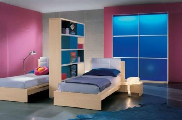 Teen Bedroom room-georgeus pink