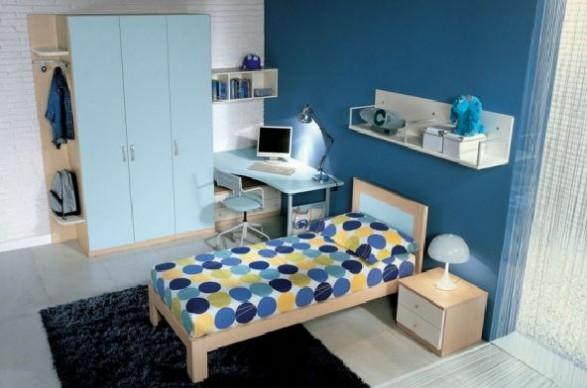 Teen Bedroom Design-dot