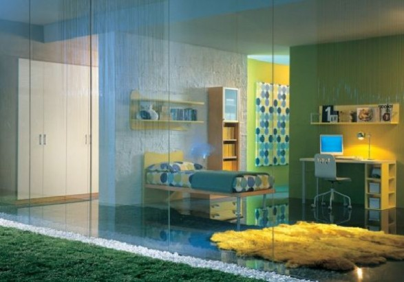 Teen Bedroom Design-cool