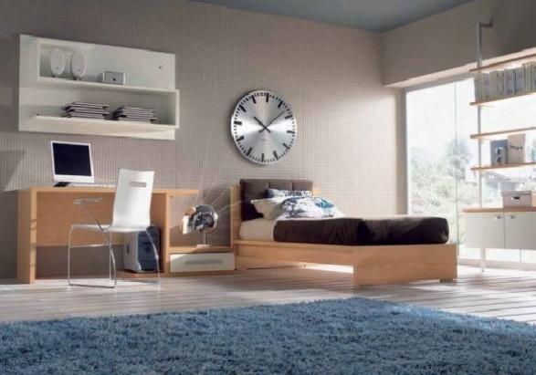 Teen Bedroom Design-carpet
