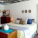 apartment design for small loft bedroom