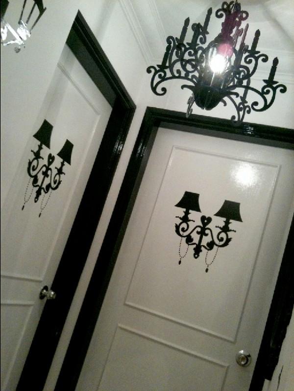 apartment door Corridor door stickers