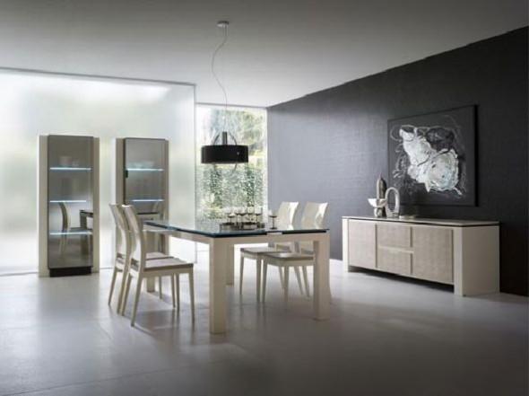 complete Dining Room Set Ivory Rossetto Diamond ideas