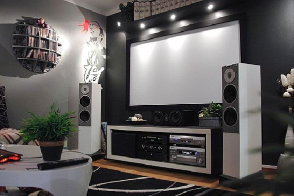 Superbe Home Theater Design By Z3M Johan