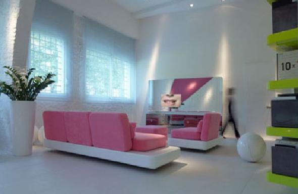living room-small apartment interior