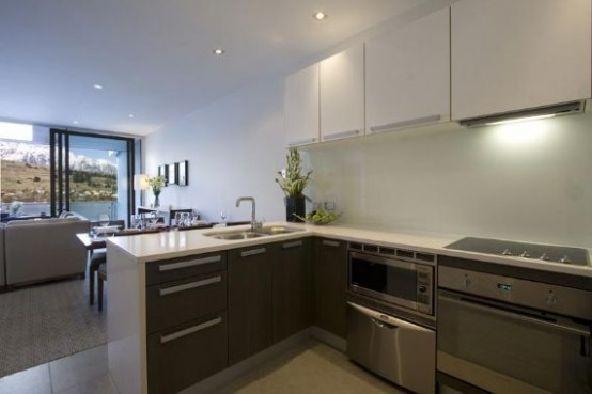 Luxury Kitchen Apartment Lake Views