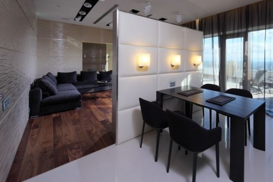 luxury partition apartments in Moskow