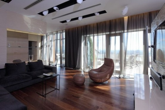 luxury modern apartments in Moskow