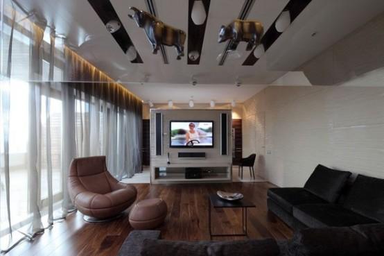 living luxury apartments in Moskow