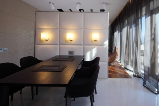 luxury dining apartments in Moskow