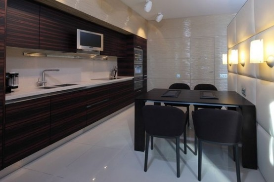 luxury kithen apartments in Moskow