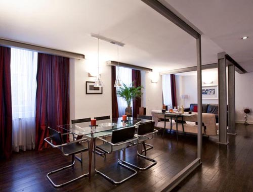 portugal delightful apartment dining room design
