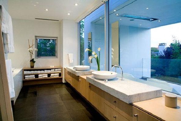 Simple Modern House washtafel
