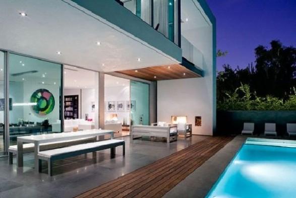 really modern pool