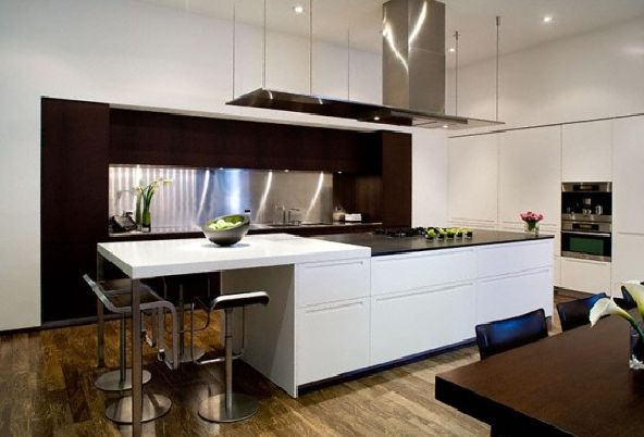 Simple Modern House Kitchen