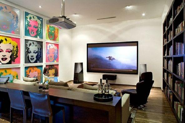 Simple Modern House living
