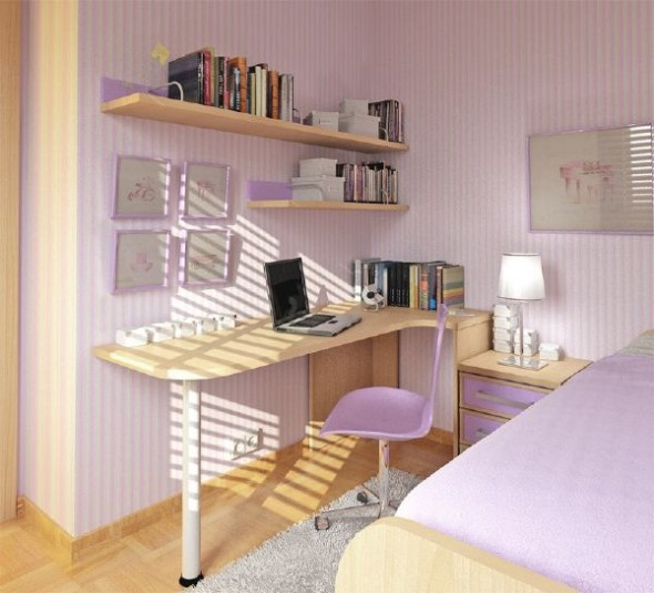 small teen room