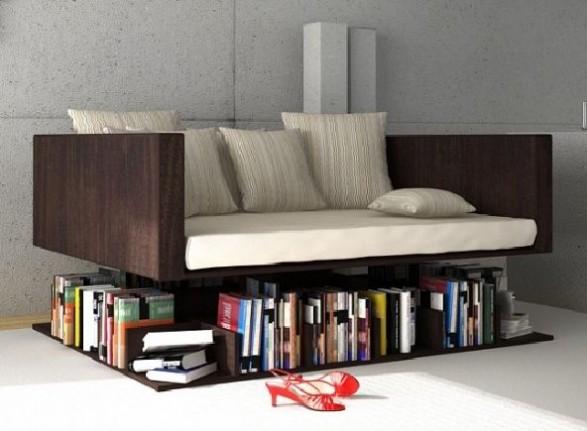 Sofa Levitating The Books