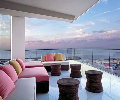 stylish Condominium Decorating Apartement