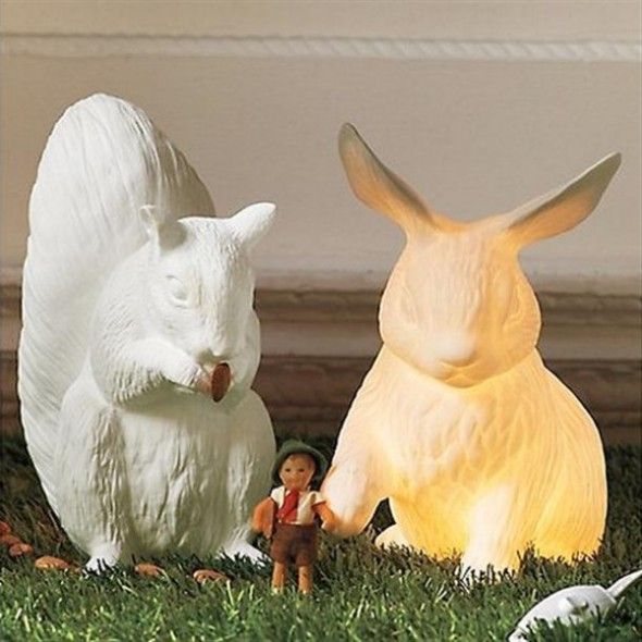 unusual-rabbits-Lamp-that-looks-alive